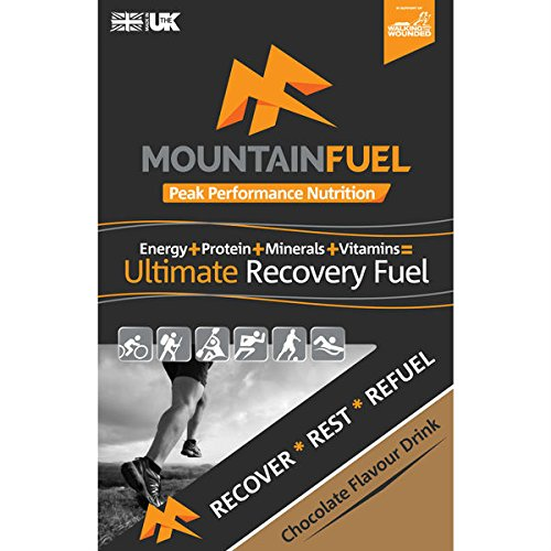 Mountain Fuel Ultimate Recovery Fuel Chocolate Sachet