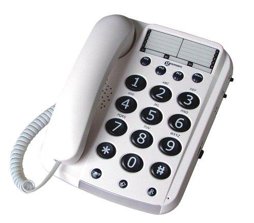 Geemarc DALLAS 10 groottasttelefoon draadloos met 3 directe keuzeknoppen - Duitse versie