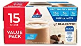 Atkins Gluten Free Protein-Rich Shake, Mocha Latte, Keto Friendy, 15 Count