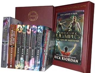 Rick Riordan Percy Jackson Collection: Sword of Hades, Lightning Thief, Last Olympian, Titan's Curse, Sea of Monsters, Bat...