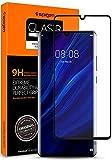 Spigen 【1枚入】 Huawei P30 Pro ガラスフィルム 6.5インチ用 全面保護フィルム 日本製素材旭硝子製 液晶強化ガラス 【フルカバー】 曲面スクリーン対応 9H硬度 撥油加工 飛散防止 ガラスフィルム (Glas.tR Curved Black) (L37GL25745)