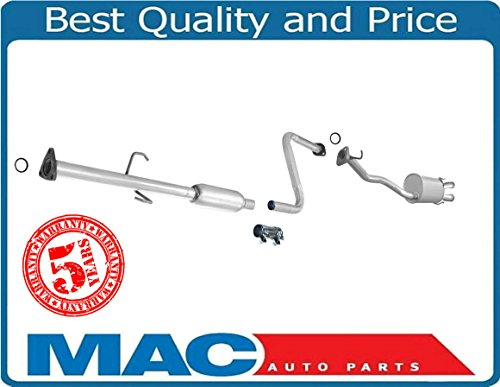 100% New Exhaust System Muffler Fits For Honda Accord DX LX 90-92 Fed Cal Emissions