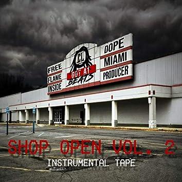 Shop Open, Vol. 2 (Instrumental Tape)