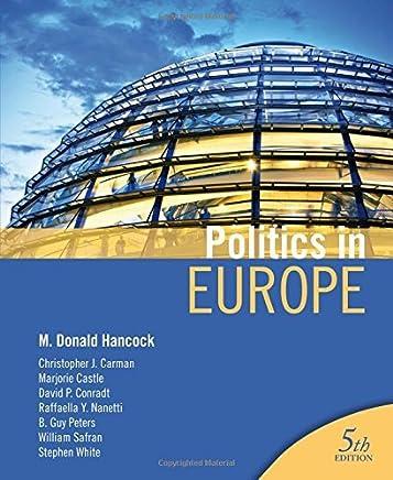 Politics in Europe by M. Donald Hancock (2011-04-12)