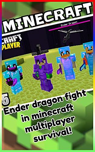 Minecraft: Ender dragon fight in minecraft multiplayer survival! (English Edition)