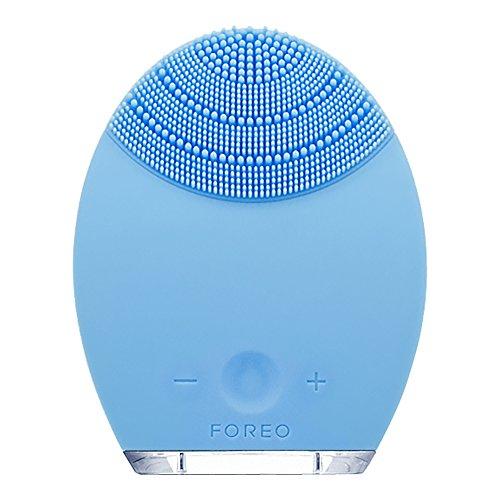 FOREO Luna - Dispositivo de Limpieza Facial Anti-Edad, Piel Mixta