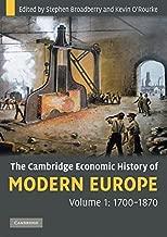 The Cambridge Economic History of Modern Europe 2 Volume Hardback Set