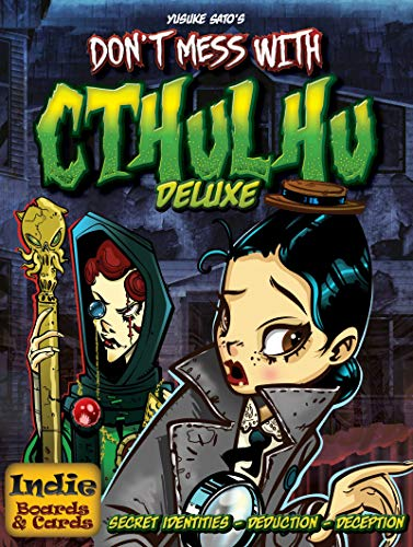 Indie Board Games DMWC2 - Don't Mess with Cthulhu Deluxe