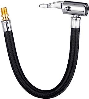 LUMITECO Locking Tire Chuck with Rubber Hose and Standard Tire Valve Fine Thread, Tire..