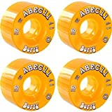 ABEC 11 Bertz Amber Skateboard Wheels - 60mm 81a (Set of 4)