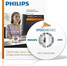 Philips LFH4500 SpeechExec Pro Transcription Software CD-ROM