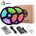 Yormick 32.8Ft/10M 300LED Light Strip with 44 Keys IR Remote