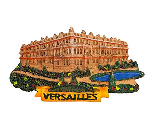 zamonji Paris Versailles France 3D Resin Fridge Magnet City Tourist Travel Souvenir, Office Magnets, Home Decoration
