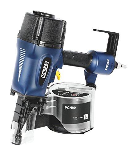 Rapid Druckluftnagler PCN90 50-90mm, Coilnagler für 15° Trommelnägel Typ 50, 50-90mm