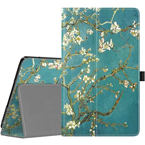 TiMOVO Case for Samsung Galaxy Tab A 8.0 2019 (T290/T295),Premium Slim Folding PU Leather Shell Stand Cover Case for Galaxy Tab A 8.0 2019 Tablet,Not Fit Galaxy Tab A 8.0 2017/2018 - Almond Blossom