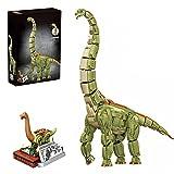 JOYFLY Juego de construcción de dinosaurios, juguete de dinosaurio, juego de construcción para niños y adultos, compatible con Lego – Brachiosaurus (2250 piezas)