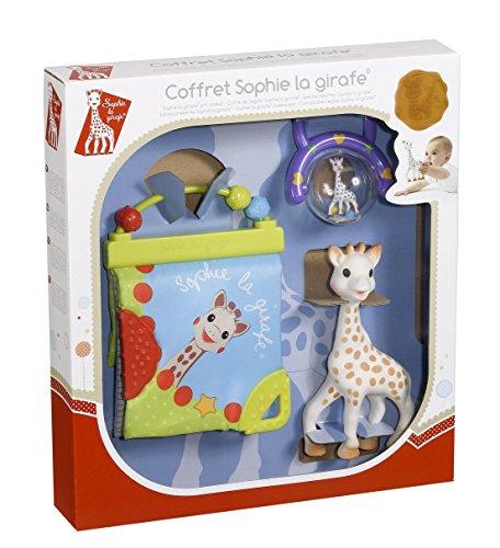 Vulli 516325 - Juguete de bebe Sophie la jirafa (despertar la actividad), colores surtidos, 1 unidad