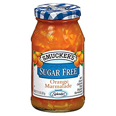 Smucker's Sugar Free Orange Marmalade 12.75oz Jar (Pack of 3)