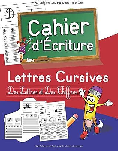 Books By Alisson Mate_cahier Decriture Lettres Cursives Des ...