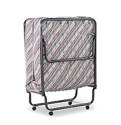 top 10 pull out cot Linon Verona Folding Bed Multicolor –