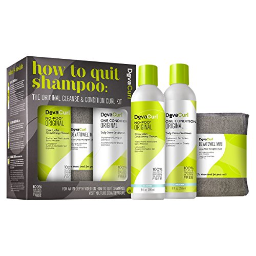 DevaCurl How to Quit Shampoo, Cleanse & Condition Kit