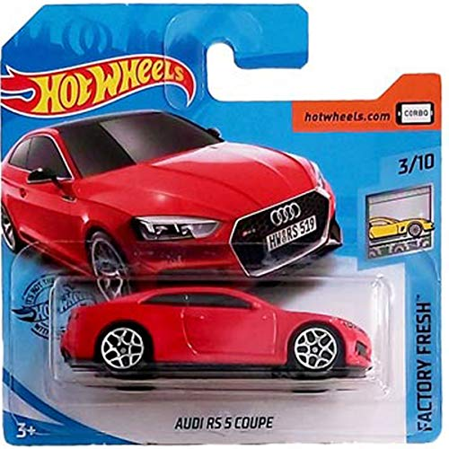 Hot Wheels Audi RS 5 Coupe Factory Fresh 3/10 2019 (225/250) Short Card