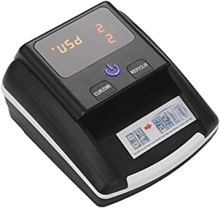 Aibecy Portable Small Banknote Bill Detector Denomination Value Counter UV/MG/IR Detection with Battery Counterfeit Fake M...