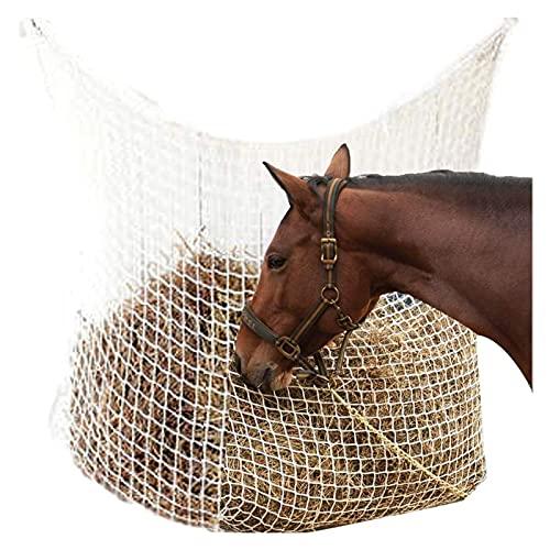 Sacchetto di mangimi lenti netti di fieno, full day slow sacchetto rete da fieno, forniture di alimentazione equestri, sacchetto di alimentatore di grande capacità con piccoli fori nutrire il cavallo