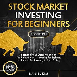 Stock Market Investing for Beginners: 3 Books in 1 cover art