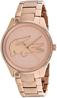 Lacoste Victoria Rose Gold Dial Stainless Steel Ladies Watch 2001015