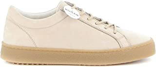 Luxury Fashion | Hogan Men HXM4760CC726RNC609 Beige Leather Sneakers | Spring-summer 20