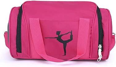 2017snow Gymnastic Bag for Girls Kids Dance Bags for Girls Overnight Duffle Bag