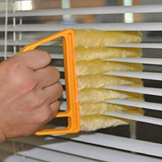 Smartcoco Portable Venetian Blind Blade Cleaning Brush Microfiber Air Conditioner Duster Cleaner Washable Blind Window Cleaning Cloth