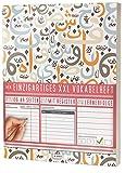 Mein Einzigartiges XXL Vokabelheft: 100+ Seiten, 2 Spalten, Register / Lernerfolge auf jeder Seite zum Abhaken / PR101 'Arabische Zeichen' / DIN A4 Softcover