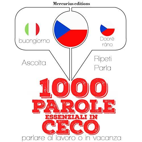 Couverture de 1000 parole essenziali in Ceco