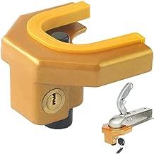 Generic fuerte heavy duty Caravan /& enganche de remolque Remolque Enganche de seguridad cerradura y 2/llaves