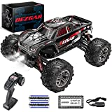 【1:20 High Speed RC Truck】The BEZGAR 5 RC Truck is equipped with a headlight, which will be automatically turned on when the remote control truck is switched on and that makes the RC Truck even more realistic. To certain extent, the LED headlight can...