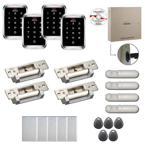 Fantastic Deal! Visionis FPC-7996 Four Doors Professional Access Control Electric Strike Fail Safe F...