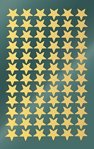 AVERY Zweckform kerststickers sterren sticker 144 Aufkleber goud