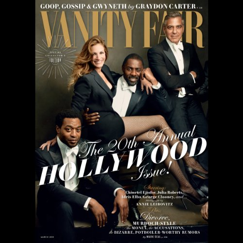 Vanity Fair: March 2014 audiobook cover art