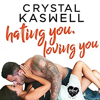 Hating You, Loving You                   By:                                                                                                                                 Crystal Kaswell                               Narrated by:                                                                                                                                 Kai Kennicott,                                                                                        Wen Ross                      Length: 9 hrs and 33 mins     70 ratings     Overall 4.4