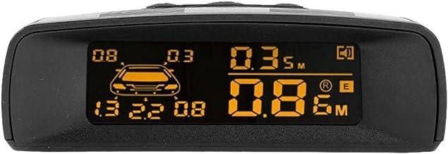 $67 » YXZQ Handheld GPS Detector Auto LCD Car Parking Monitor Sensor Kit Car Parking Assistance Detector Rear Reverse Backup Rad...