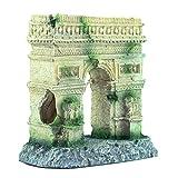 Joocyee Antiguo Romano Columna Arco Acuario Pecera Decoración De Paisajismo Vintage, Acuario Paisajismo Arco Triunfal Antiguo Arco De Columna Romana, como Se Muestra