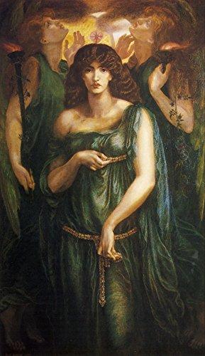 Astarte Syriaca Rossetti 1908 Poster Print by Dante Gabriel Rossetti (24 x 36)