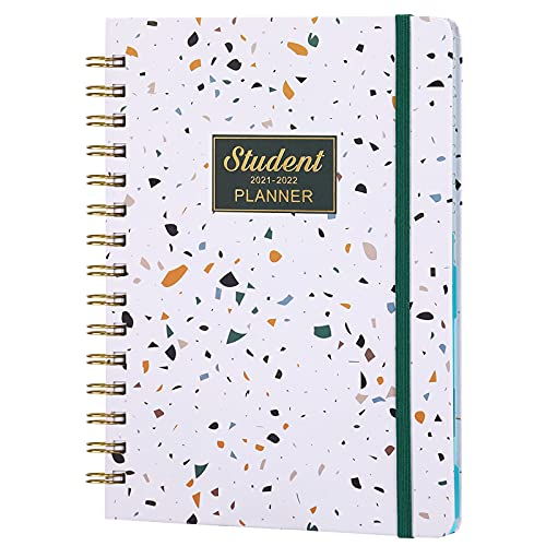 BooQool Student Planner 2021-2022 - Week to View Lesson Planner, Academic Planner from Jul 2021- Jun...