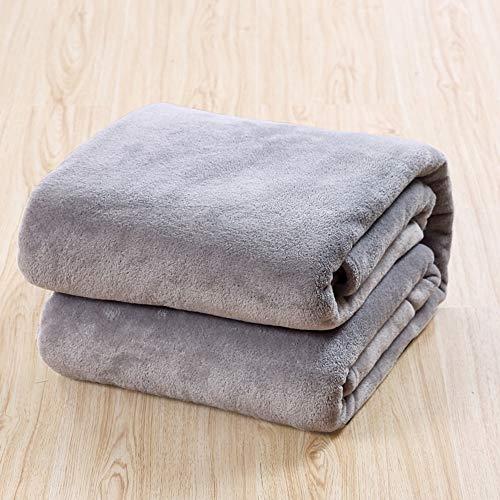 JASIN Decke weich und warm Flanell-Decke mit Decke, Bettwäsche Decke, kann als Sofa-Abdeckung verwendet oder Bettbezug,150 * 200cm
