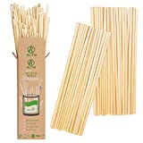 ALYN Natural Wheat Drinking Straws | 100 x 20cm - 100% Biodegradable | Eco-Friendly | Disposable | Organic | Compostable - Better Than Bamboo | Plastic | Paper | Stainless-Steel | Silicone
