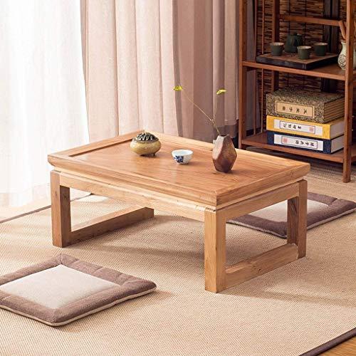 Goede Tv staande lamp telefoontafel sofa bijzettafel eiken tafel salontafel woonkamermeubels tafel massief tafel computertafel multifunctionele tatami tafel bedtafel hoog belastbaar (kleur: bruin, maat: 30 30 * 50 * 80 cm bruin