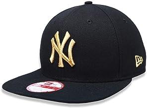 BONE 9FIFTY ORIGINAL FIT ABA RETA AJUSTAVEL MLB NEW YORK YANKEES ABA RETA SNAPBACK PRETO NEW ERA