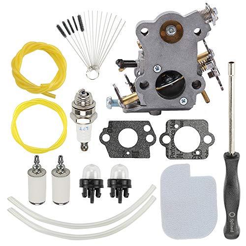 ATVATP C1M-W26C 545070601 Carburetor for Poulan P3314 Carburetor P3816 P4018 P3314 P3314WSA P3416 PPB3416 PP3416 PP3516 P3516PR Chain Saw 530035590 545040701 & 530057925 Air Filter